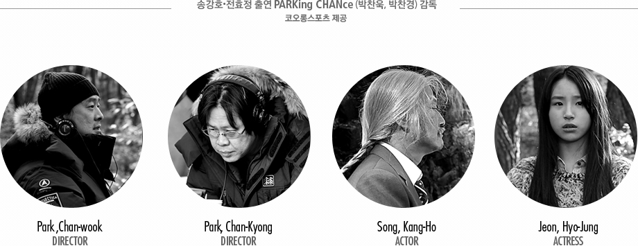 �۱�ȣ ��ȿ�� �⿬ PARKing CHANce (�����, �����) ���� �ڿ��ս����� ���� - director:park,chan-wook/director:park,chan-kyong/actor:song,kang-ho/actress: jeon,hyo-jung