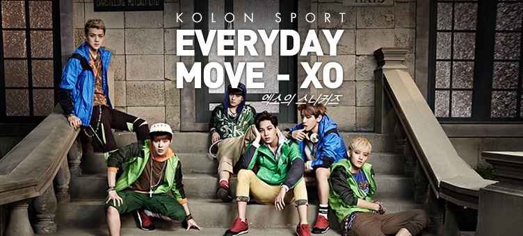 EVERYDAY MOVE-XO ������ ����Ŀ��