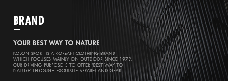 BRAND - YOUR BEST WAY TO NATURE